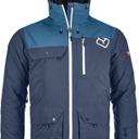 2L Swisswool Andermatt Jacket M Night Blue