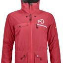 2L Swisswool Andermatt Jacket W Hot Coral