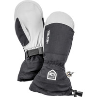 Army Leather Heli Ski Mitten Noir