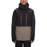 Mns GLCR Ether Down Therma Jkt Black Colorblock