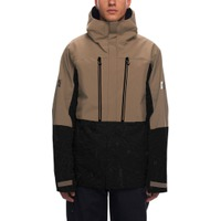 Mns GLCR Ether Down Therma Jkt Khaki Level 1 Colorblock