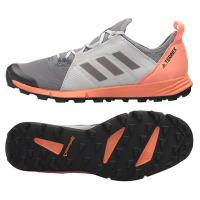 Terrex Agravic Speed W Grey/Black/Coral