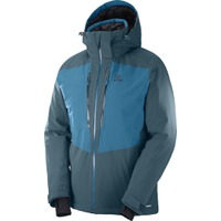 Icefrost Jkt M Reflecting/Moroccan Blue