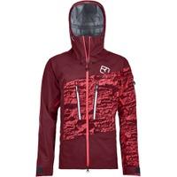 3L Guardian Shell Jacket W Dark Blood