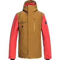 Mission Solid Jacket Golden Brown