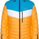 Hokkaido Mens Down Jacket Pumpkin-Mirage-White
