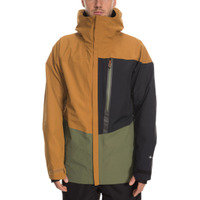 Mns GLCR Gore-Tex GT Jacket Golden Brown Colorblock