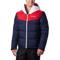 Iceline Ridge Jacket Collegiate Navy/Mountain Red/White