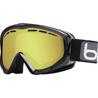 Masque De Ski/snow Bollé Y6 Otg Shiny Black Lemon