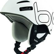 Casque De Ski/snow Bollé B-style Soft White & Black 54-58