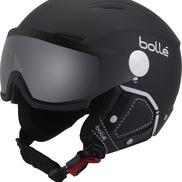 Casque De Ski/snow Bollé Backline Visor Prenium Soft Black & White Modulator 54-56