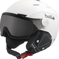 Casque De Ski/snow Bollé Backline Visor Prenium Soft White & Black Modulator 54-56