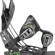 Fixations De Snowboard Flow Nx2-gt Black