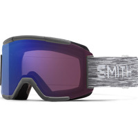 Masque De Ski/snow Smith Squad Chromapop Photochromique Ros Fl Cat 1-2 Homme Blanc
