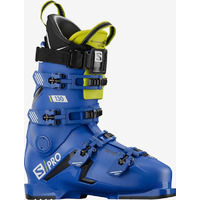 Chaussures De Ski Salomon S/pro 130 Bootfitter Friendly Bleu Homme