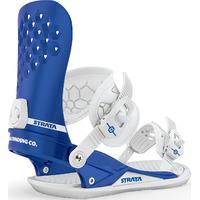Fixations De Snowboard Union Strata Homme Bleu