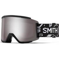 Masque De Ski/snow Smith Squad Xl Craig Robson | Chromapop Sun Platinum Mirror S3/s1 Noir