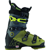 Chaussures De Ski K2 Recon 120 Mv Heat Gripwalk Green-black Homme