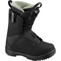 Boots De Snowboard Salomon Pearl Black/bk/tropical P Femme