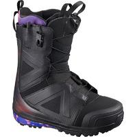 Boots De Snowboard Salomon Hi Fi Wide Black/black/bl Homme