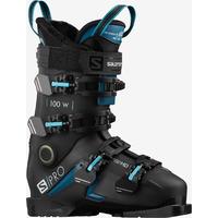 Chaussures De Ski Salomon S/pro 100 W Gw Black/b Femme