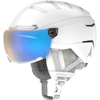 Casque De Ski Atomic Savor Gt Visor Photo White Mixte