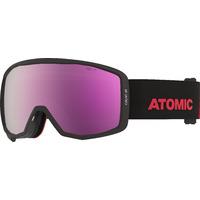 Masque De Ski/snow Atomic Count Jr Hd Black/red Cat.3-2 Homme