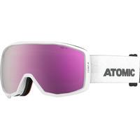 Masque De Ski/snow Atomic Count Jr Hd White/grey Cat.3-2 Homme