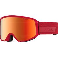 Masque De Ski/snow Atomic Four Q Hd Red Cat.3-2 Mixte