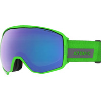 Masque De Ski/snow Atomic Count 360° Hd Green Cat.2-1 Mixte