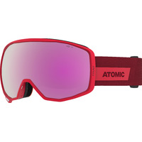 Masque De Ski/snow Atomic Count Hd Red Cat.3-2 Mixte