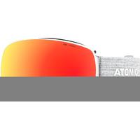 Masque De Ski/snow Atomic Revent Q Stereo White Cat.3 Mixte