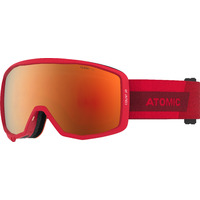Masque De Ski/snow Atomic Count Jr Spherical Red Cat.2 Garçon