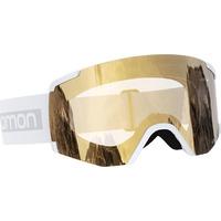 Masque De Ski/snow Salomon S/view Access White/univ. Gold Homme