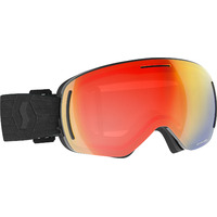 Masque De Ski / Snow Scott Lcg Evo Black / Enhancer Red Chrome