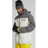 Veste De Ski/snow Burton Ak Gore-tex Lz Down Castlerock / White Mist Homme