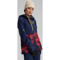 Veste De Ski/snow Burton Ak Gore-tex 3l Kimmy Dress Blue / Hibiscus Pink Cloud Marble Femme