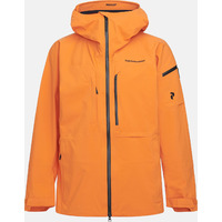 Veste De Ski/snow Peak Performance M Alpine Jacket Orange Altitude Homme