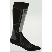 Socks Ski+ Lite Otc W Oil/black/silver (oil/black/silver)