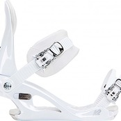 FIXATION DE SNOWBOARD CASSETTE WHITE