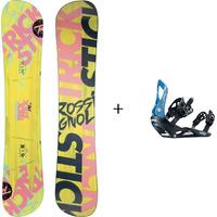 Pack Snowboard TRICKSTK AF + Fixation VIPER M/L