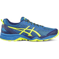 Chaussures de Trail - Gel-FujiTrabuco 5 Nder Blue Safety Yellow