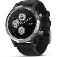 Montre GPS Fenix 5 Plus - Argent / Noir